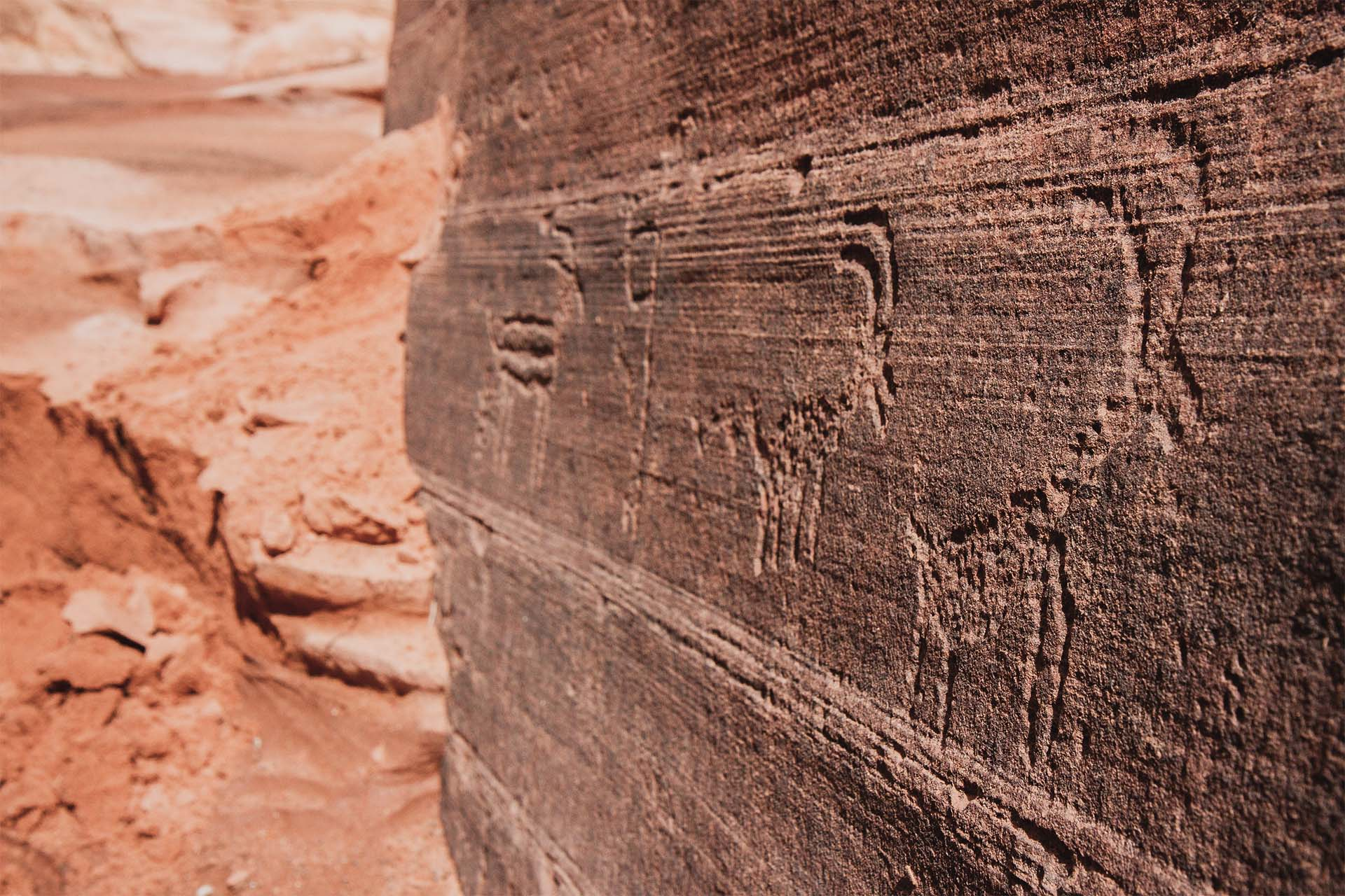 Buckskin Gulch petroglyphs