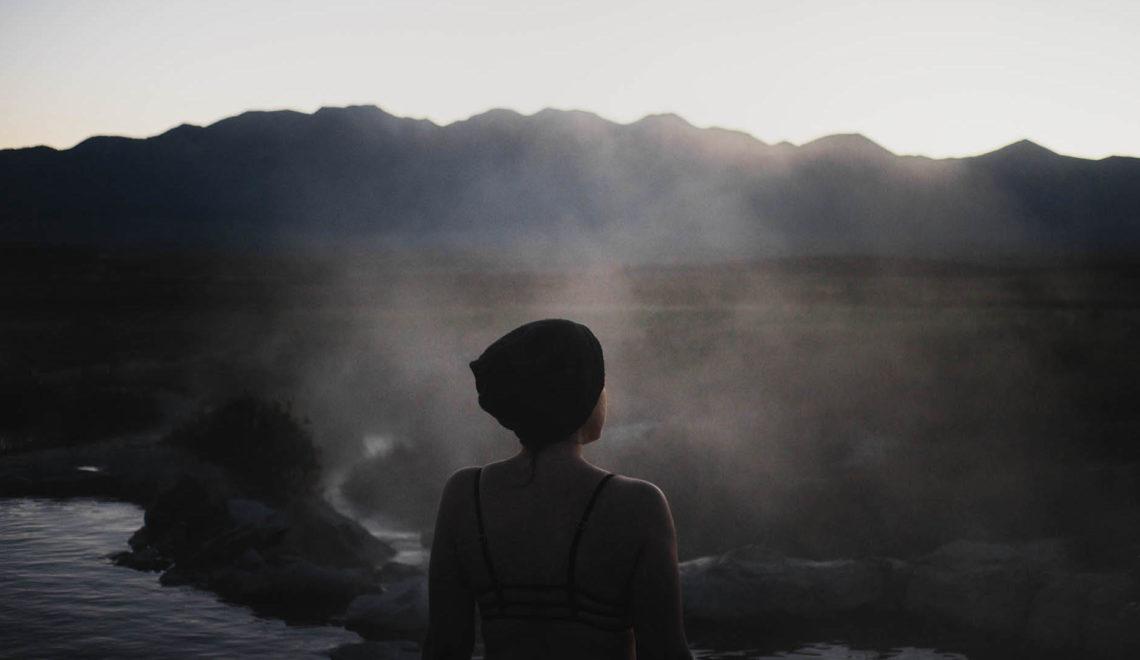 Les sources chaudes de Mammoth Lakes