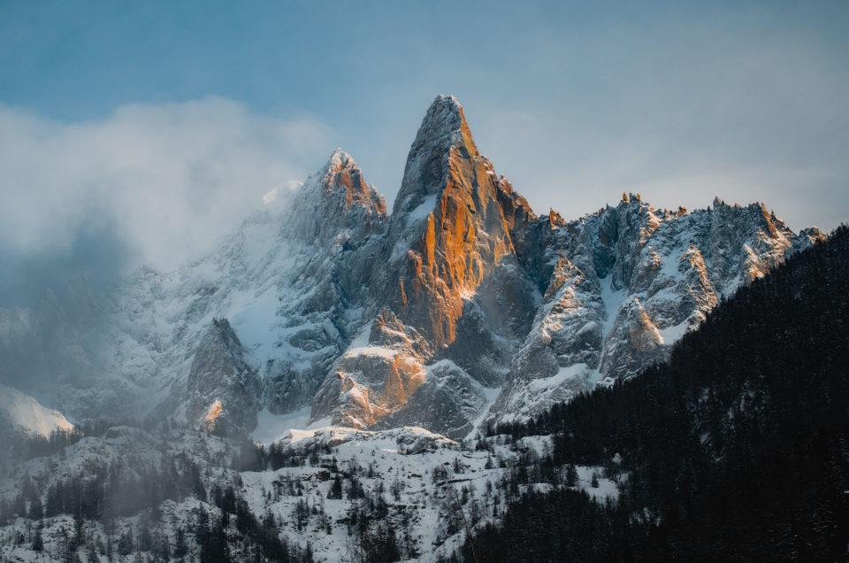 Randonnées à Chamonix en hiver